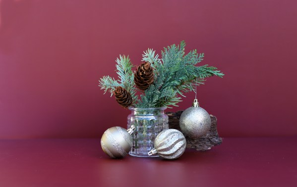 Juniper, Spruce and Christmas bobbles