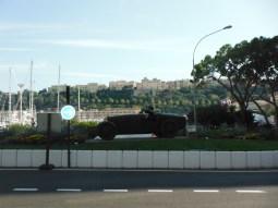 Monaco's iconic symbol of the Grand Prix