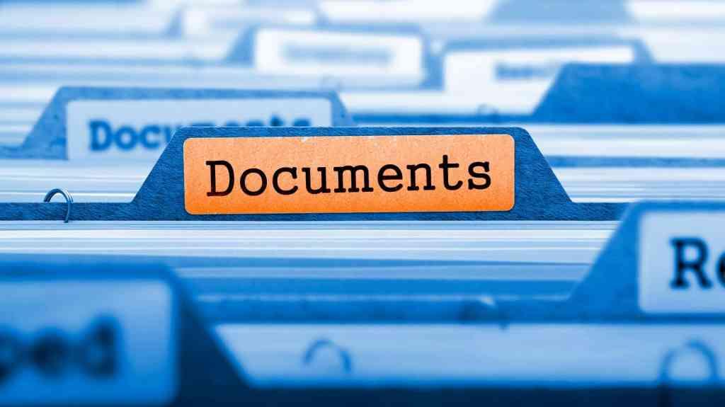 demande de documents