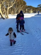 First time on skis