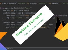 Android Firebase FireStore Tutorial