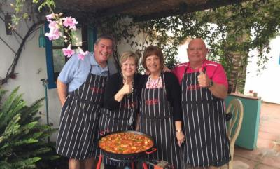 Thumbs up for Paella.