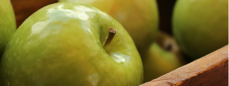 Fresh apple.