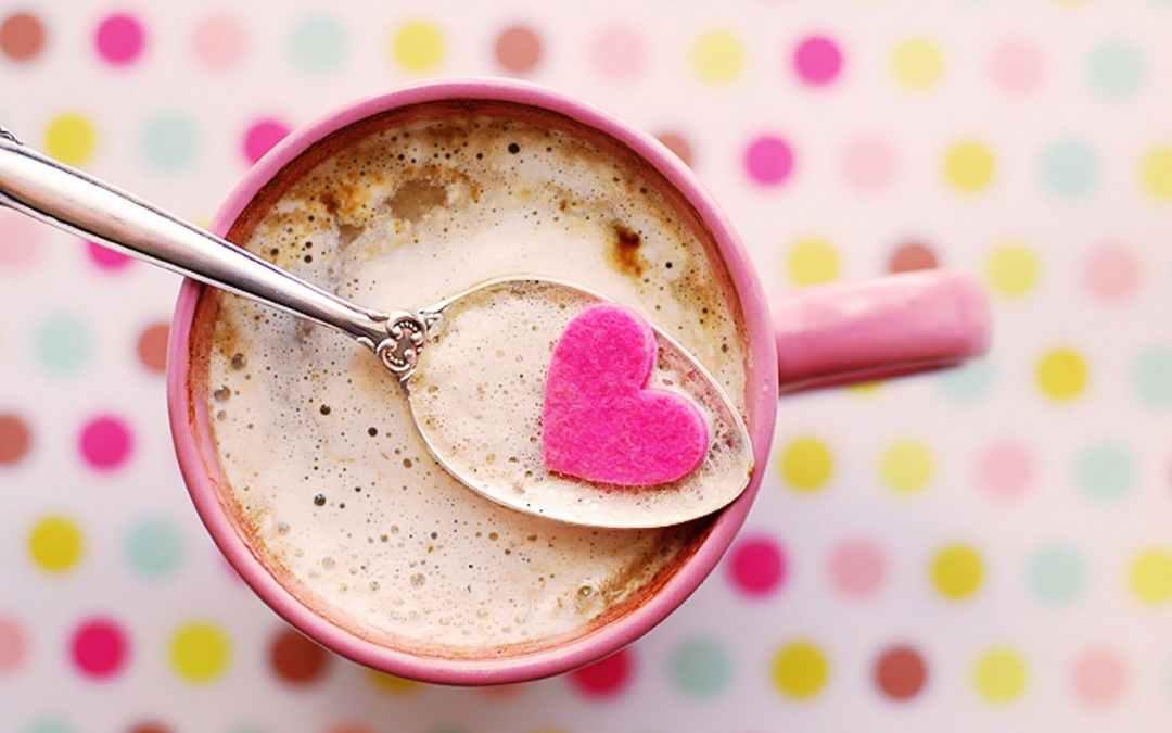 Love hot chocolate.