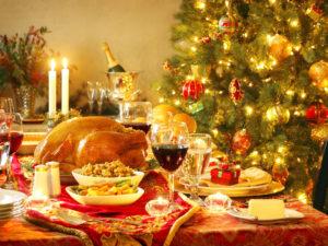 Christmas, eat, drink & be merry, Feliz Navidad.