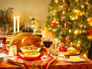 Christmas, eat, drink & be merry, Feliz Navidad.