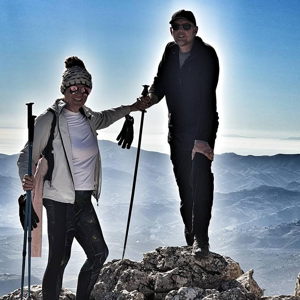 January hiking, new routes with La Rosilla