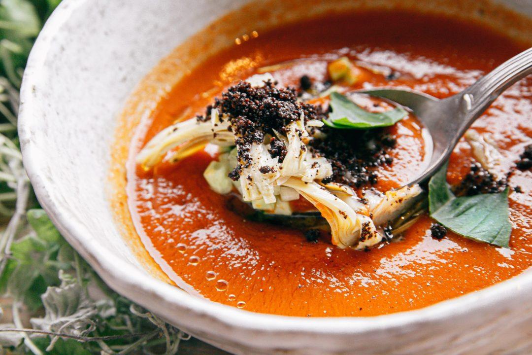 Chilled gazpachos