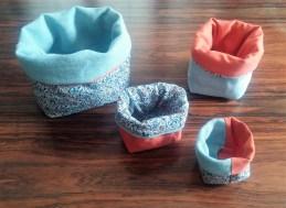 Cestini azzurro arancio 2