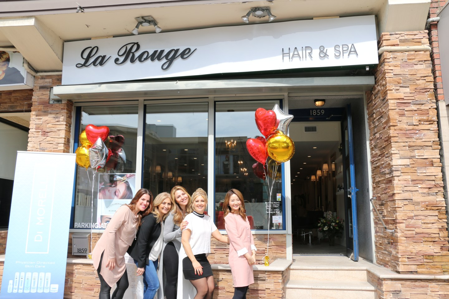 La Rouge-Hair-Spa-Team-exterior