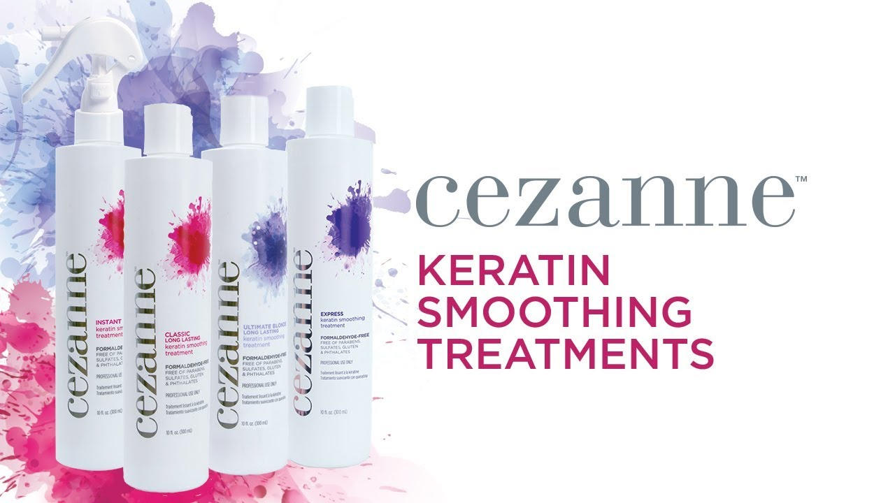 Cezanne Keratin Smoothing treatment products