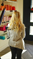 Blonde color with Hair Extensions
