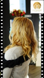 Blonde with Hair Extensions