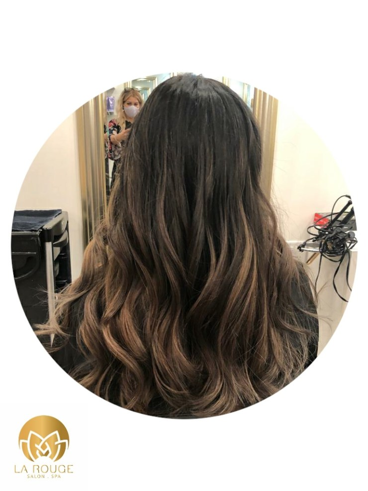 Balayage on Black by Nelly