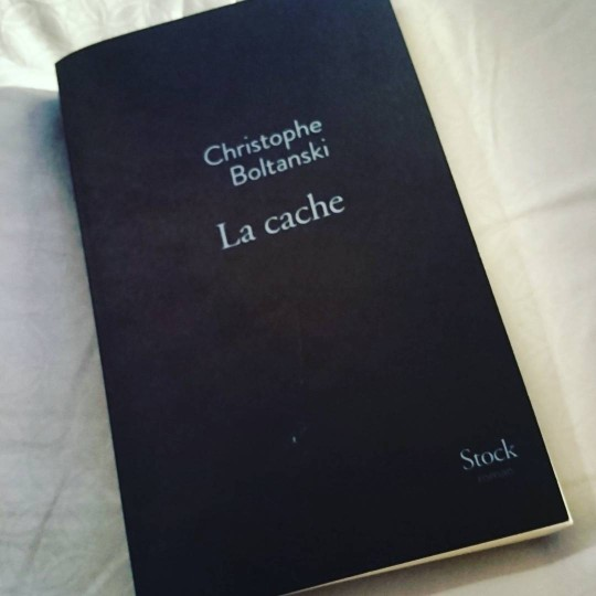 Revue : La Cache - Christophe Boltanski