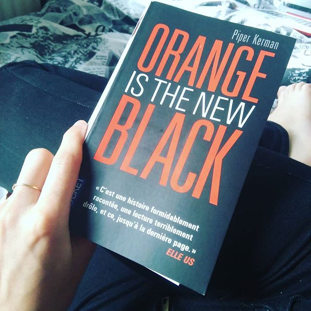 Après la série, je m'attaque au livre : Orange is the New Black, par Piper Kerman !