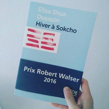 Hiver à Sokcho - Elisa Shua Dusapin