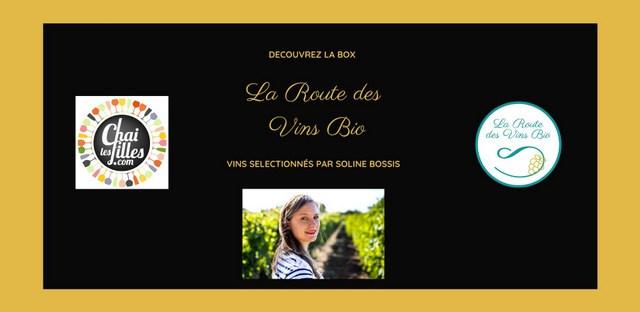 box de vins bio la route des vins bio