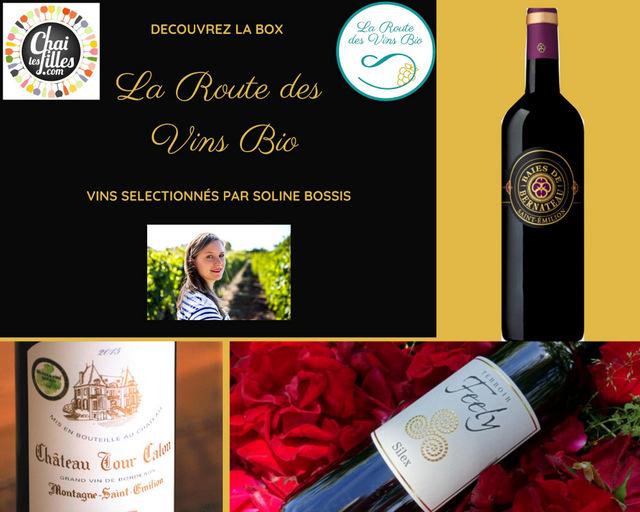 commander la box de vins Bio la route des vins bio