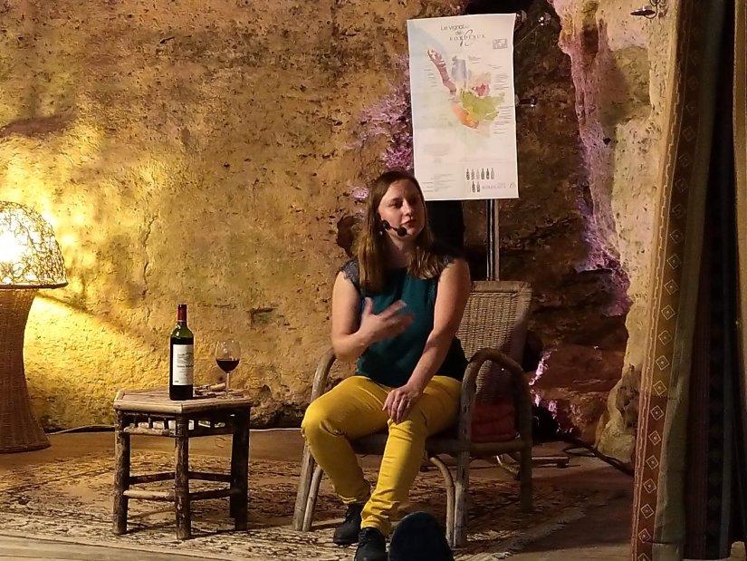 Wine Woman Show le vin bio pour tous- Soline Bossis