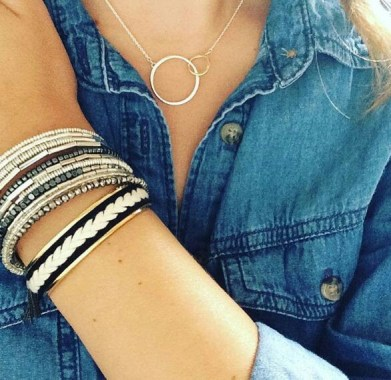 Bracelet illuminate associé Céline