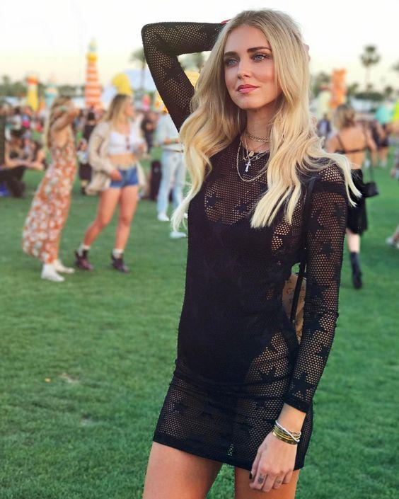 Blog mode lyon laroxstyle top tendance coachella - transparence Chiara Ferragni