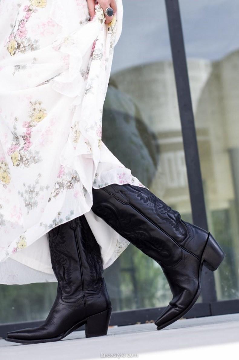 Romantic & Rock Look | Robe longue réservée aux grandes ? laroxstyle