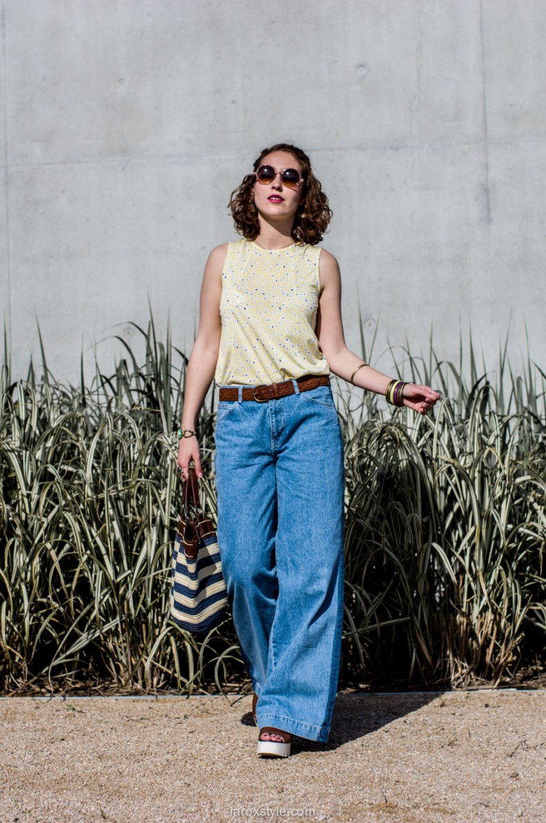 laroxstyle - blog mode lyon - look 70s - pantalon patte d elephant (21 sur 44)