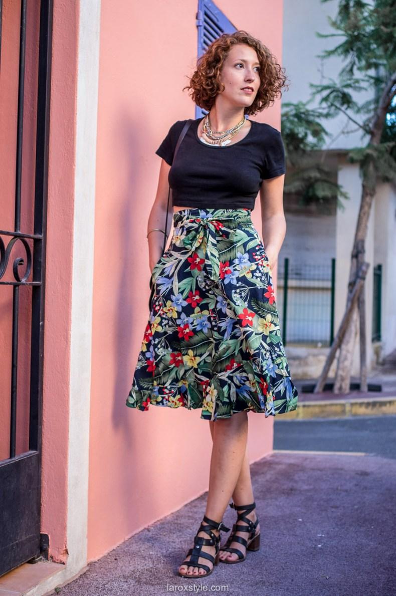 Blog mode lyon - tendance tropical - jupe tropicale