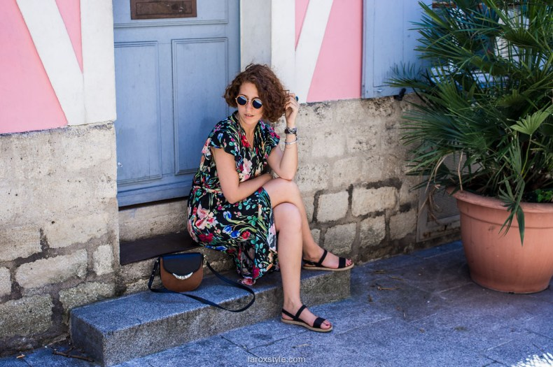 Paris - rue cremieux - robe longue zara -blog mode lyon