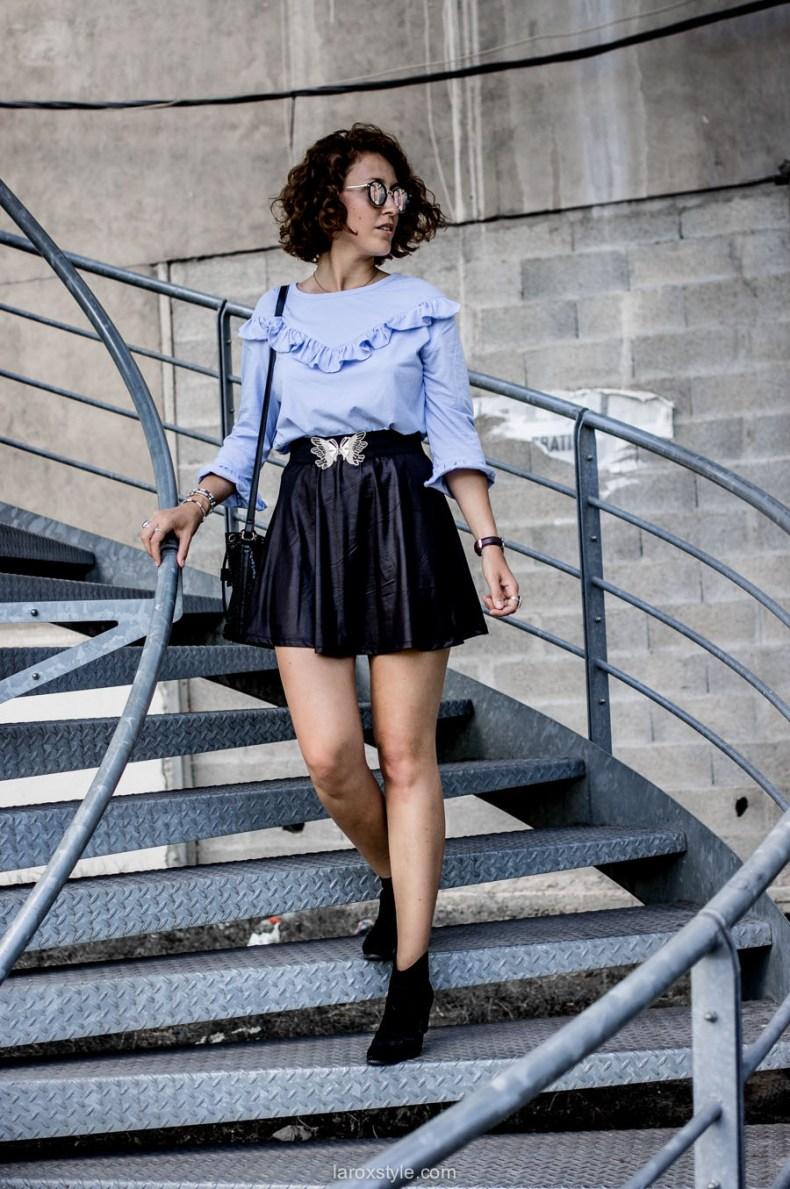 comment porter la mini jupe - blog mode lyon