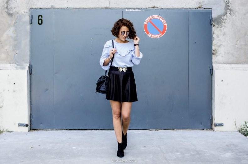 look mini jupe - blog mode lyon