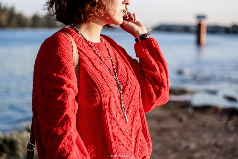 look ete indien - tendance mode rouge - laroxstyle blog mode -14