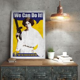 idees cadeaux noel - femme geek - poster star wars