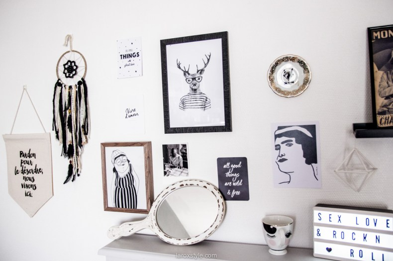 deco bureau a la maison - inspiration decoration boheme chic - laroxstyle blog lifestyle-9