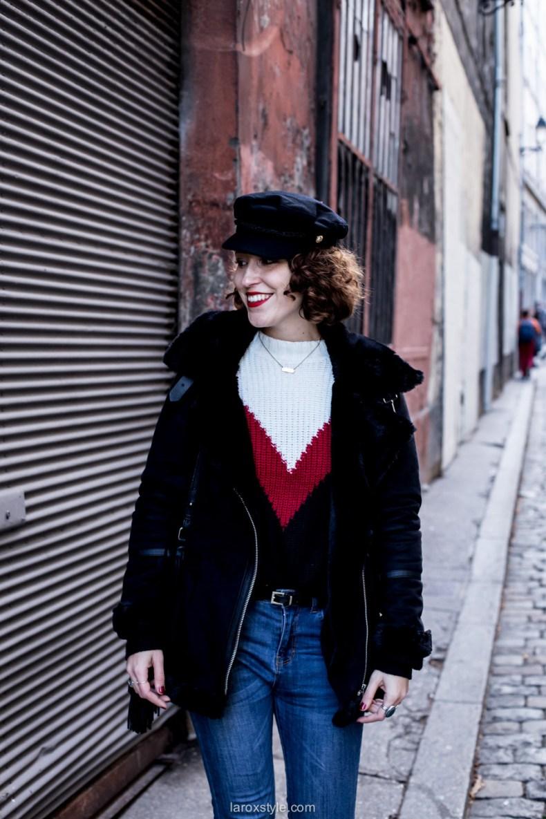 gravoche style - bombardier noir - laroxstyle - blog mode lyon