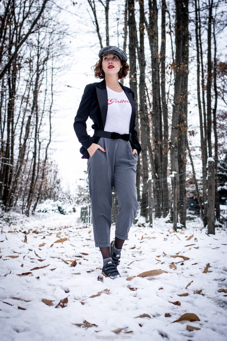 look androgyne - gavroche stetson - t shirt girl boss - blog mode lyon - laroxstyle-1