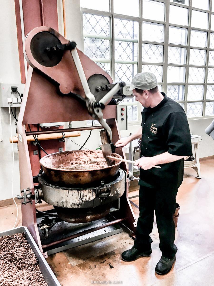 visite atelier chocolat voisin - ateliers chocolat voisin - chocolatier lyon - blog lifestyle lyon-3