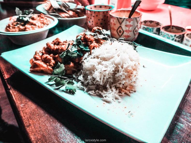 Mumbai café lyon - recette butter chicken