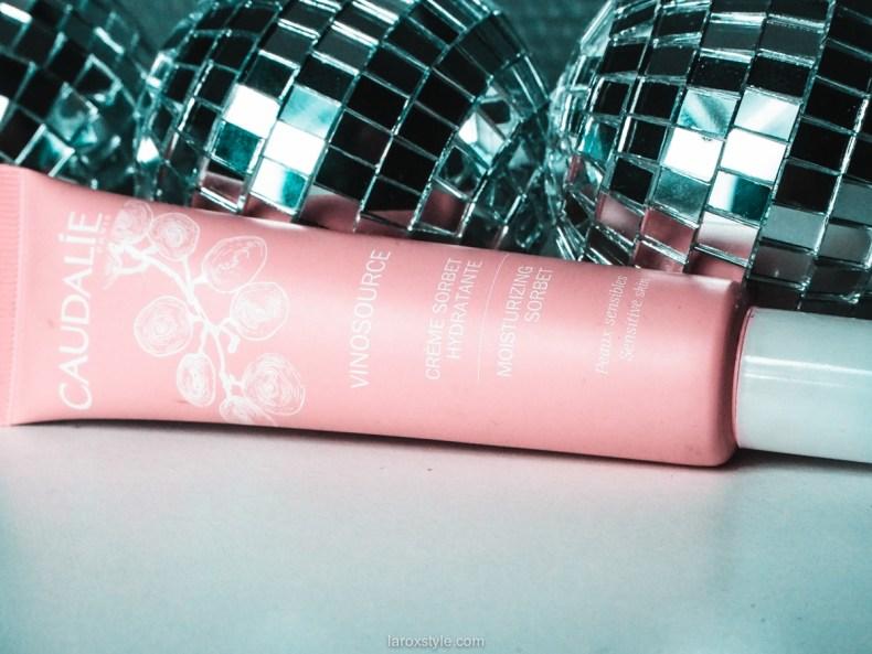 creme sorbet caudalie - creme vinosource - blog beauté - avis