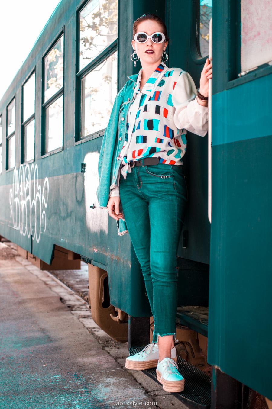 Look masculin féminin : Coupe gominée & Chemise oversize !
