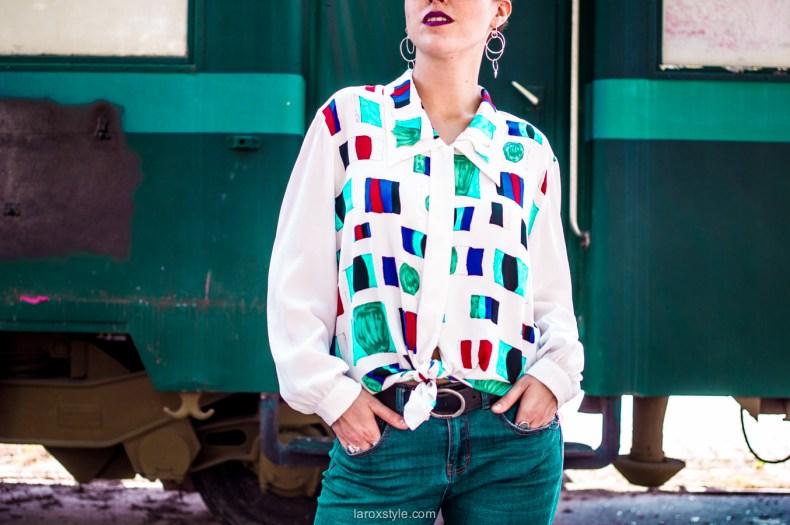 look feminin masculin - chemise oversize
