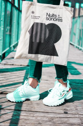 nuits sonores night 1 - look festival - fila disruptor courir - laroxstyle blog mode-3