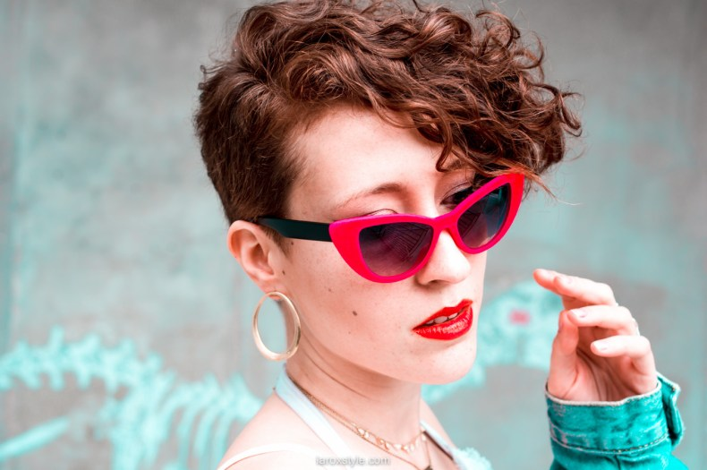 tendance rayures - tendance lunettes cat eye - vintage style - blogueuse mode lyon-12