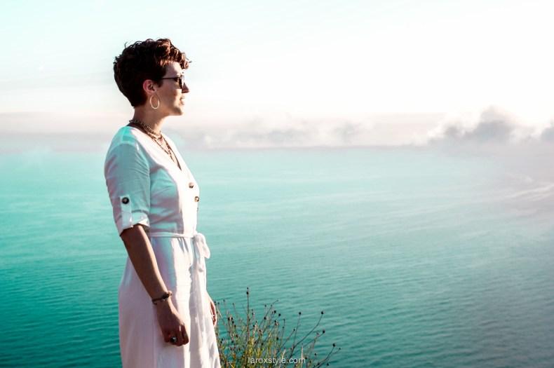 voyage à la ciotat - route des cretes - robe blanche zara - blogueuse mode voyage-5