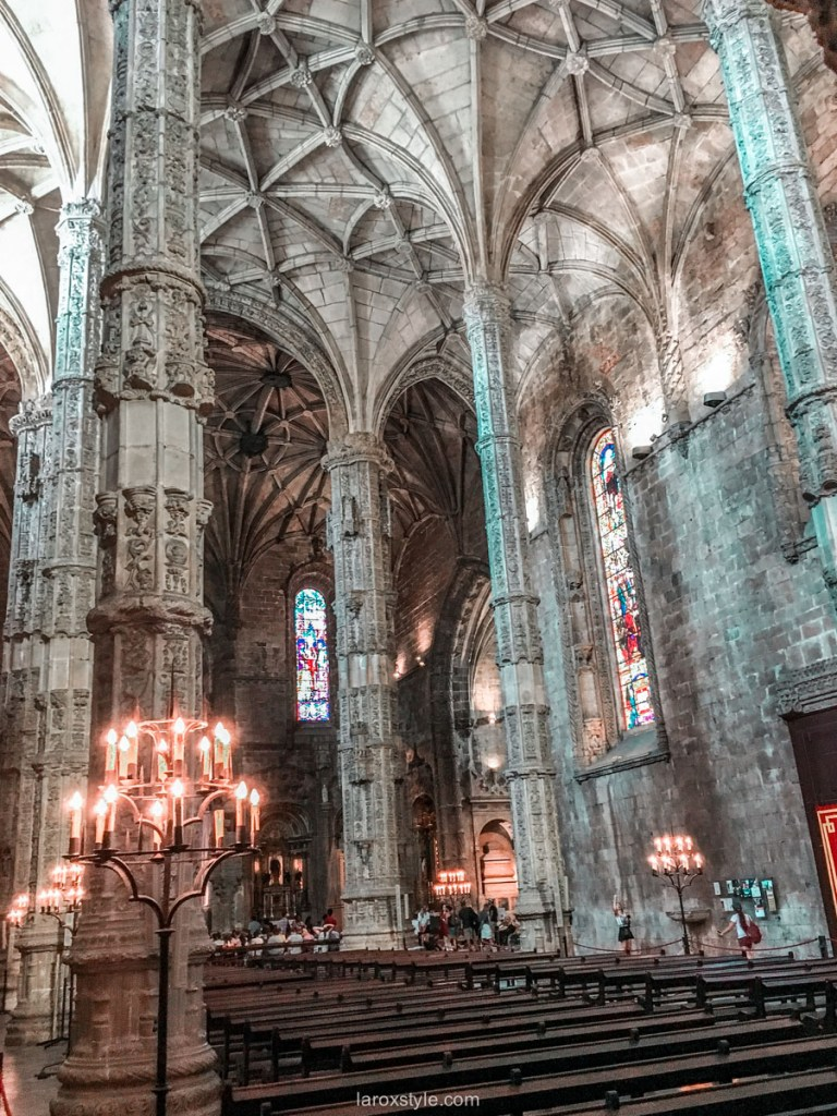 5 lieux a ne pas manquer a Lisbonne - Monastere des Hieronymites - mosteiro dos jeronimos - blog