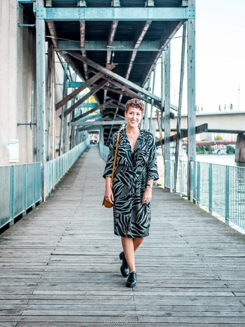 ma petite robe vintage tendance - blog mode lyon