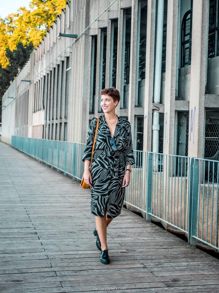 ma petite robe vintage dans la tendance - blog mode lyon