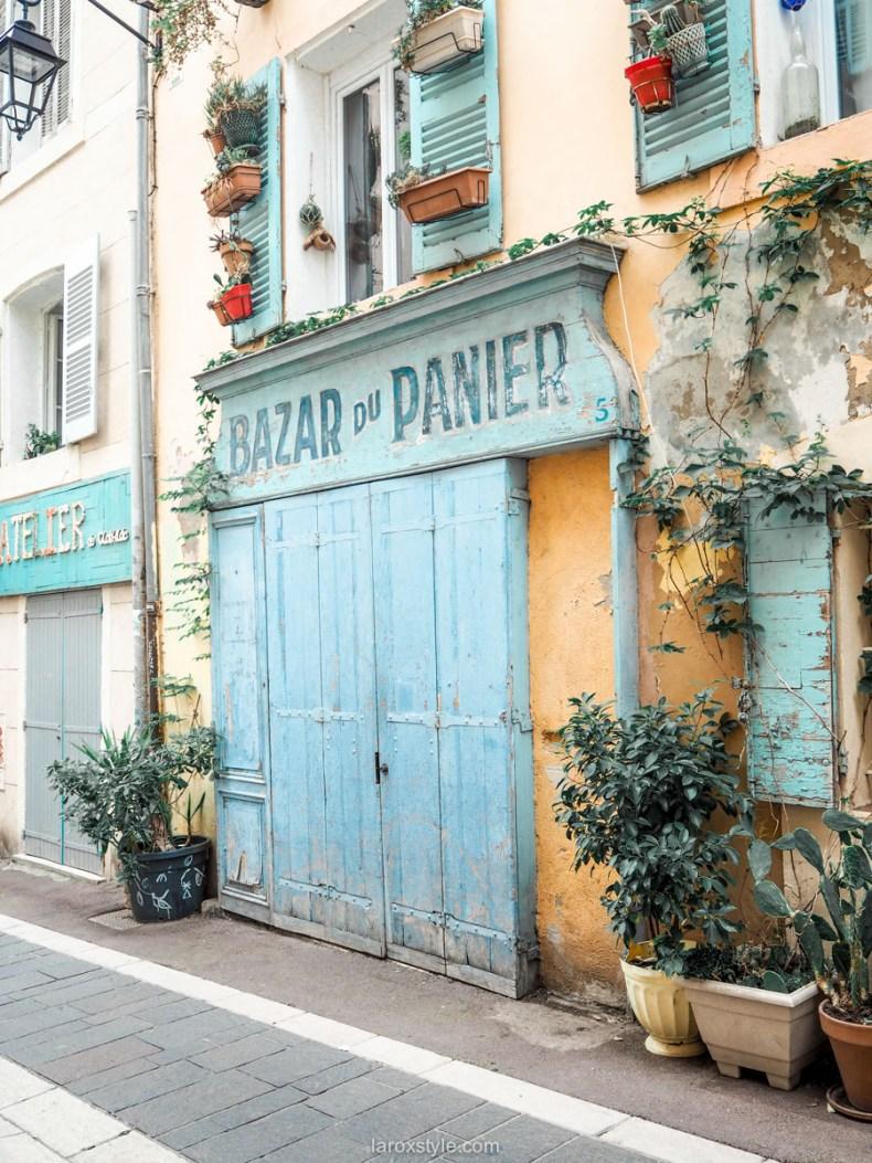 Que faire un jour a Marseille - quartier le panier