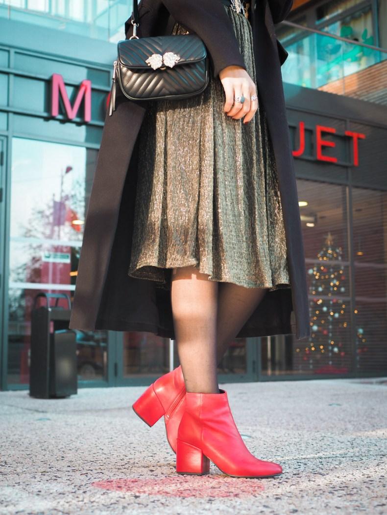 blog mode look fetes jupe midi sequins